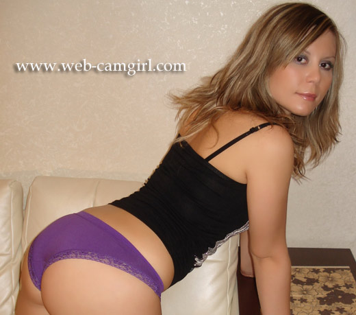 used purple panties